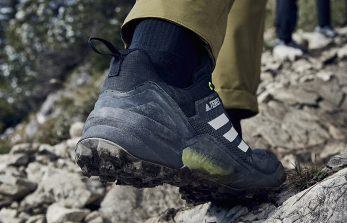 adidas Terrex Swift R3 Gore Tex Hiking Black FW2770 on foot 03
