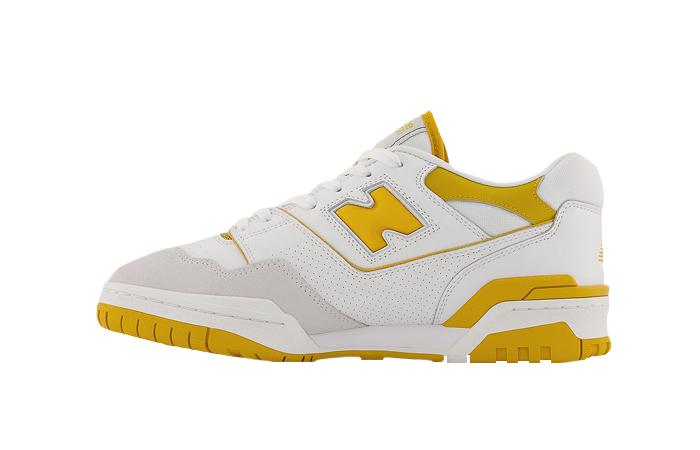 Aime Leon Dore New Balance 550 White Yellow BB550LA1 01