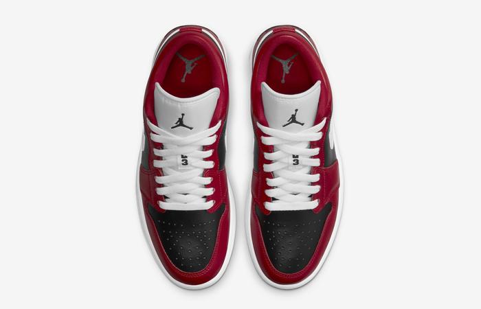Air Jordan 1 Low Chicago Flip Womens DC0774-603 04