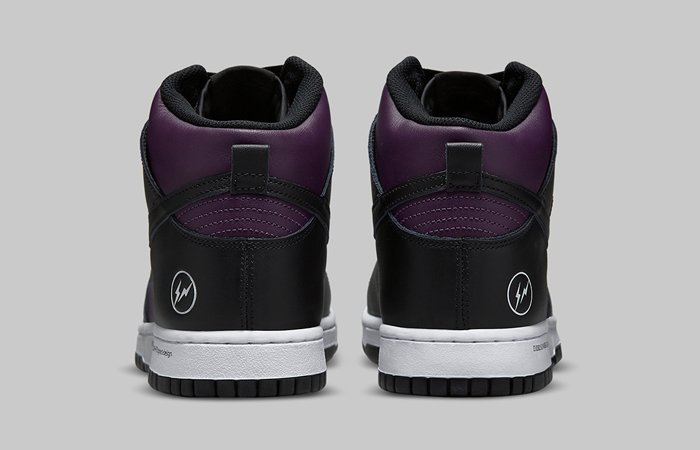 Fragment Nike Dunk High Beijing Wine Black DJ0382-600 05