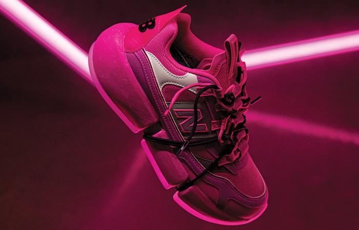 Jaden Smith New Balance Vision Racer Pink MSVRCJSC 03