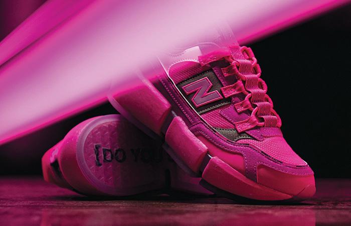 Jaden Smith New Balance Vision Racer Pink MSVRCJSC 04