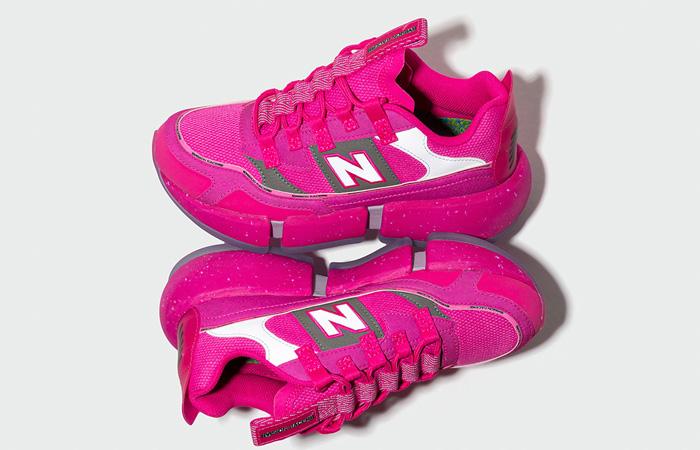Jaden Smith New Balance Vision Racer Pink MSVRCJSC 07