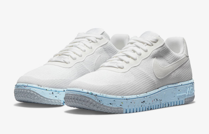 Nike Air Force 1 Crater Flyknit White Womens DC7273-100 02