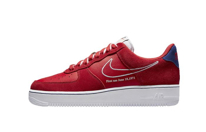 Nike Air Force 1 Low First Use Red DB3597-600 01
