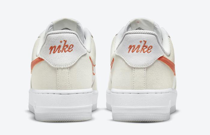 Nike Air Force 1 Low First Use White Orange DA8302-101 05