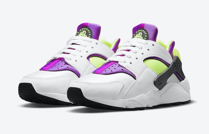 Nike Air Huarache White Magenta DH4439-101 02