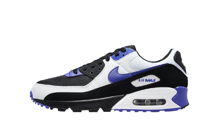 Nike Air Max 90 Black White Violet DB0625-001 01