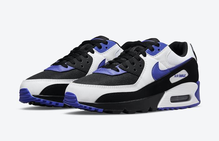 Nike Air Max 90 Black White Violet DB0625-001 02