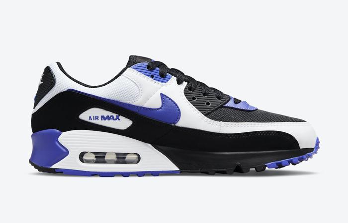 Nike Air Max 90 Black White Violet DB0625-001 03