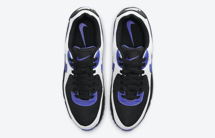 Nike Air Max 90 Black White Violet DB0625-001 04