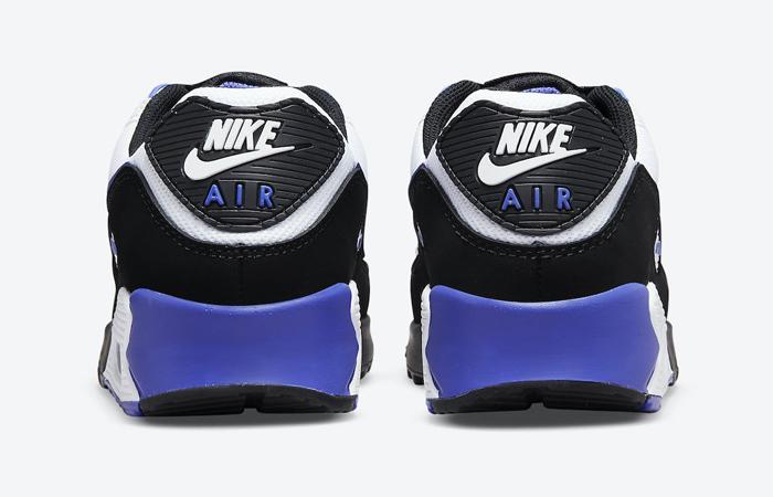 Nike Air Max 90 Black White Violet DB0625-001 05