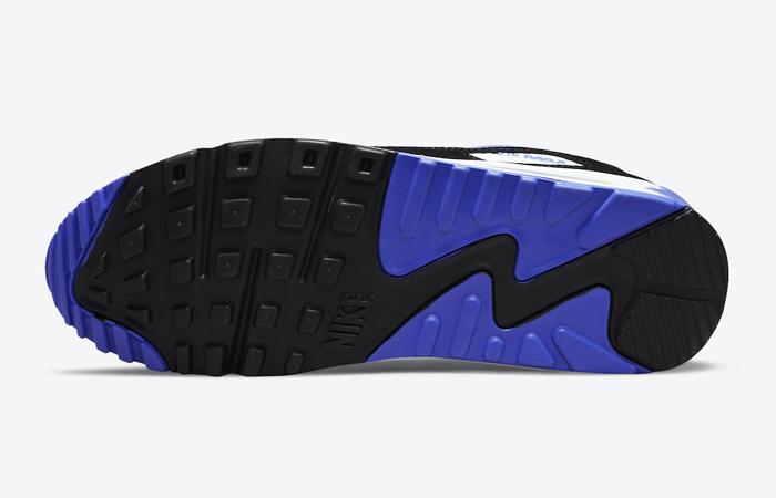 Nike Air Max 90 Black White Violet DB0625-001 down