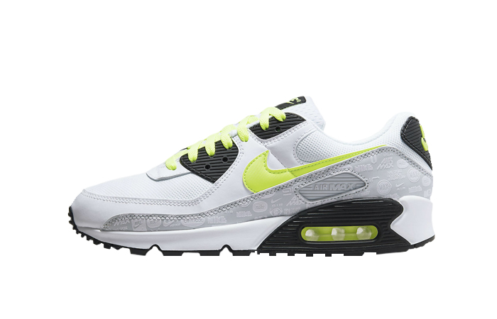 Nike Air Max 90 White Volt Black DB0625-100 01