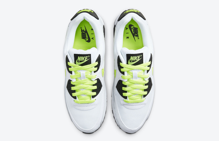 Nike Air Max 90 White Volt Black DB0625-100 04