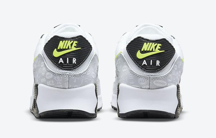 Nike Air Max 90 White Volt Black DB0625-100 05