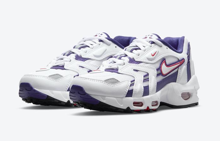 Nike Air Max 96 2 White Cherry DA2230-100 05