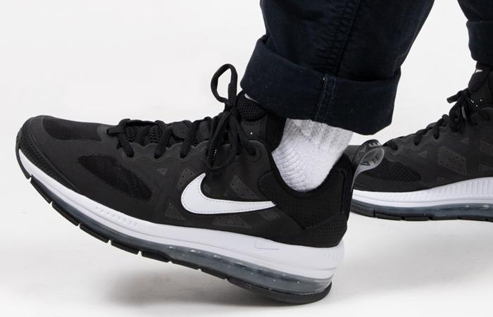 Nike Air Max Genome Black White CW1648-003 on foot 01