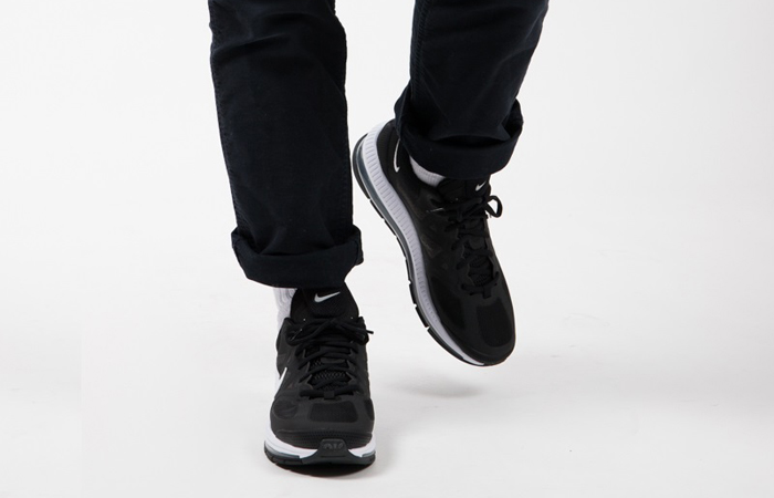 Nike Air Max Genome Black White CW1648-003 on foot 02