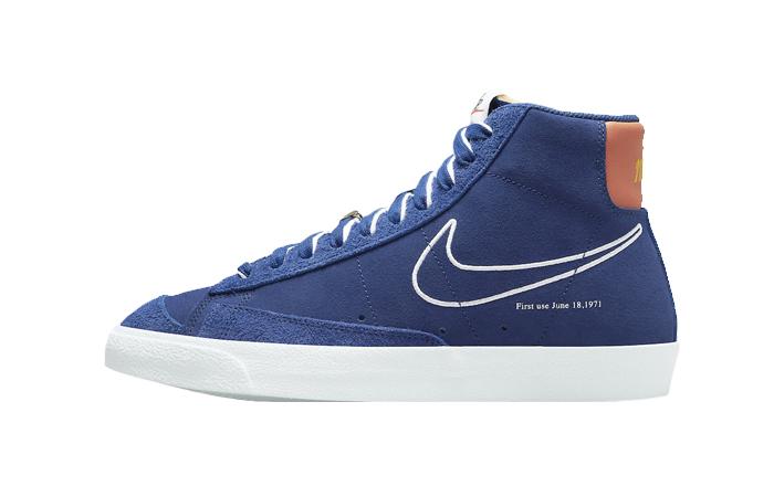 Nike Blazer Mid 77 First Use Royal Blue DC3433-400 01