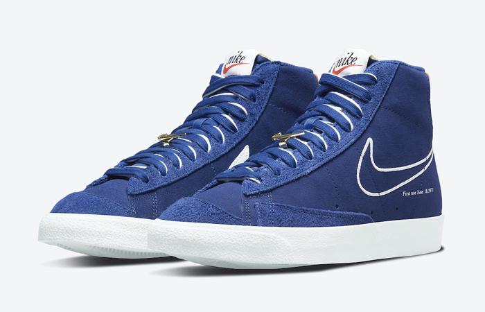 Nike Blazer Mid 77 First Use Royal Blue DC3433-400 02