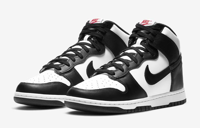 Nike Dunk High White Black DD1399-103 02