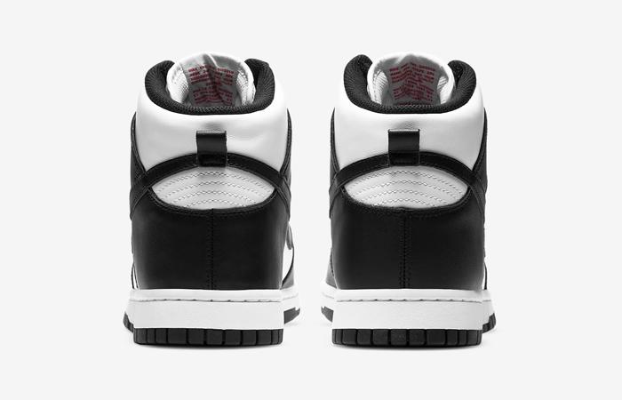 Nike Dunk High White Black DD1399-103 05