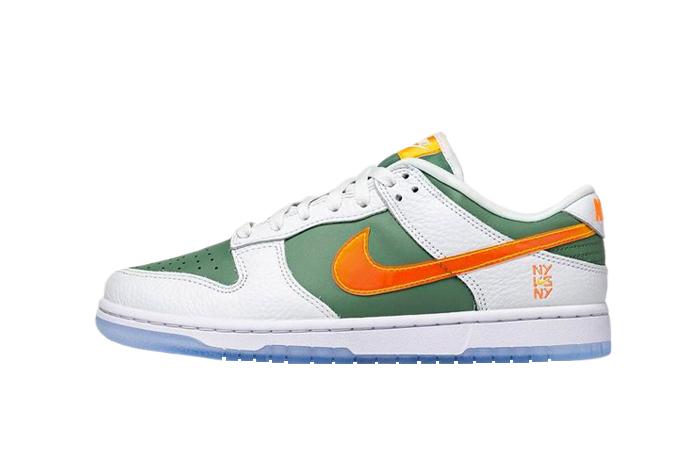 Nike Dunk Low NY vs NY Sage Green White DN2489-300 01