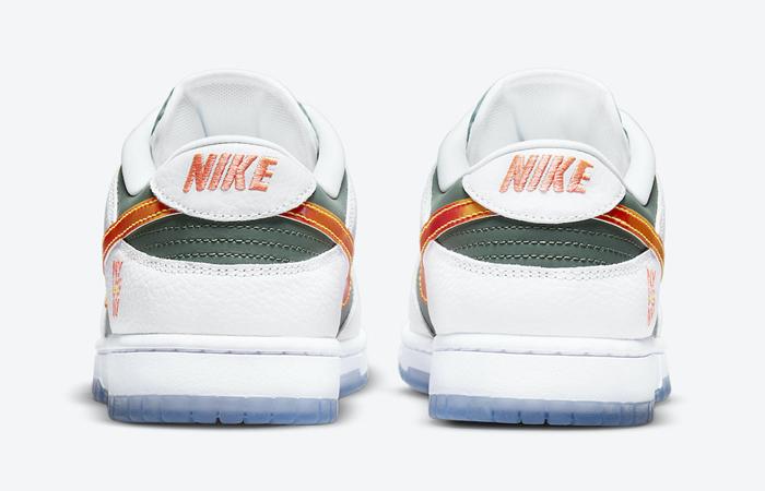 Nike Dunk Low NY vs NY Sage Green White DN2489-300 back