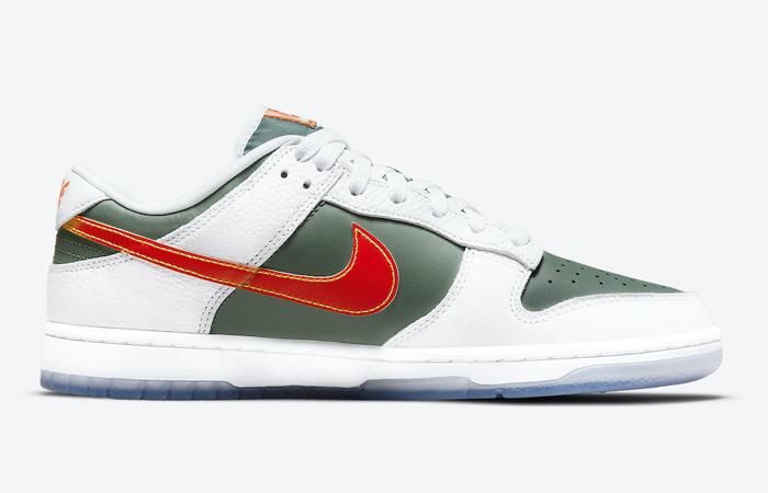 Nike Dunk Low NY vs NY Sage Green White DN2489-300 right