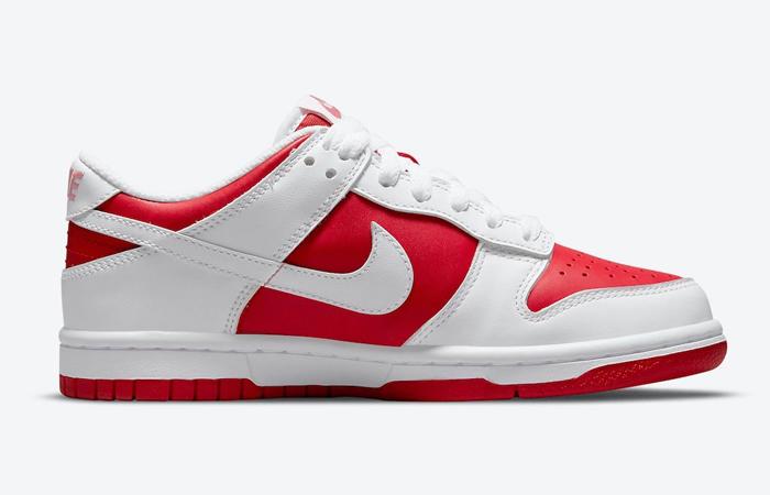 Nike Dunk Low White University Red DD1391-600 03