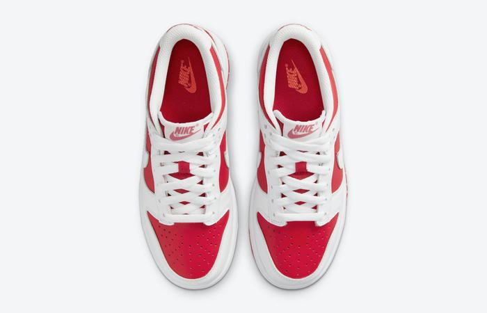 Nike Dunk Low White University Red DD1391-600 04
