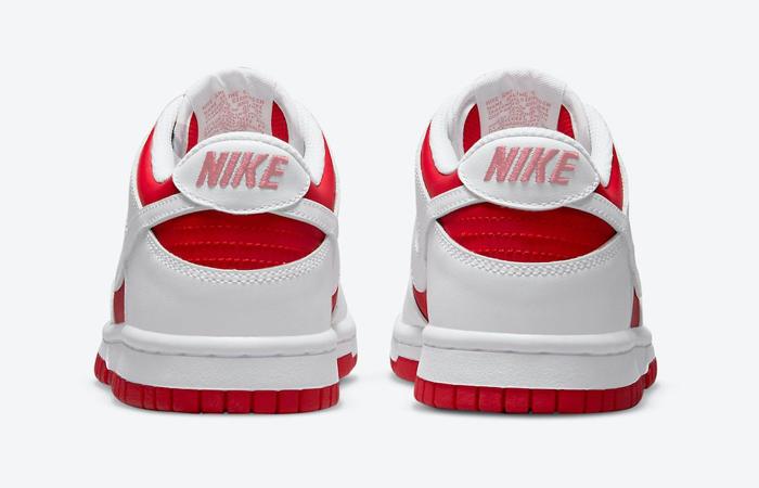 Nike Dunk Low White University Red DD1391-600 05