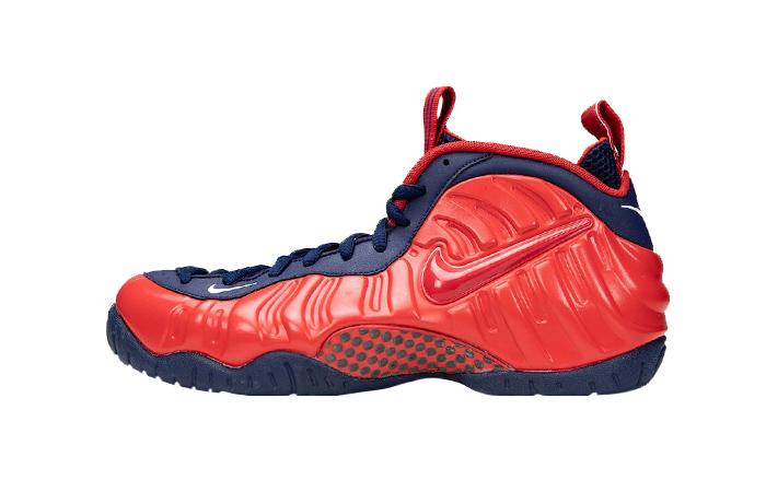 Nike Foamposite Pro USA Crimson Navy CZ1911-600 01