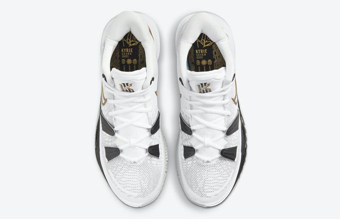 Nike Kyrie 7 White Black Gold CQ9326-101 04
