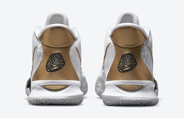 Nike Kyrie 7 White Black Gold CQ9326-101 05