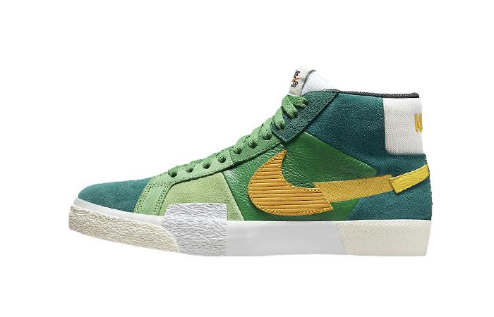 Nike SB Blazer Mid Mosaic Green DA8854-300 01