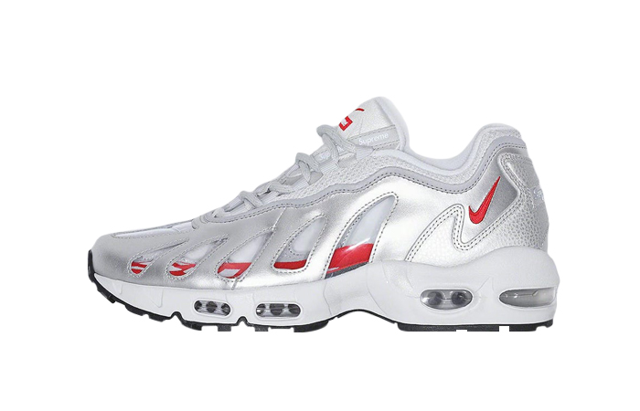 Supreme Nike Air Max 96 Metallic Silver CV7652-001 01