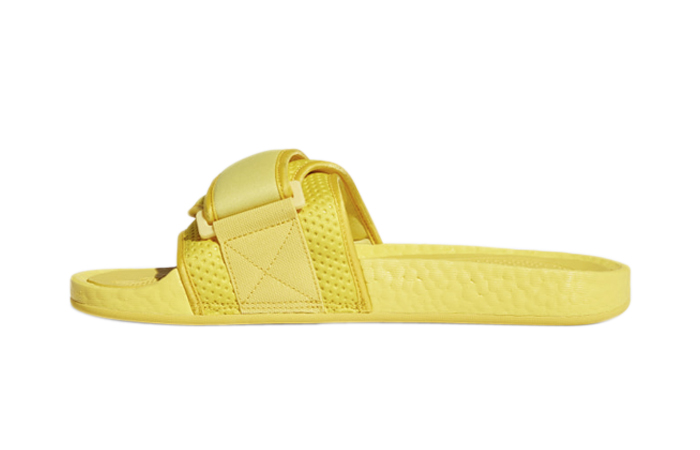 Adidas Chancletas Hu Slides Bold Gold H04407 featured image