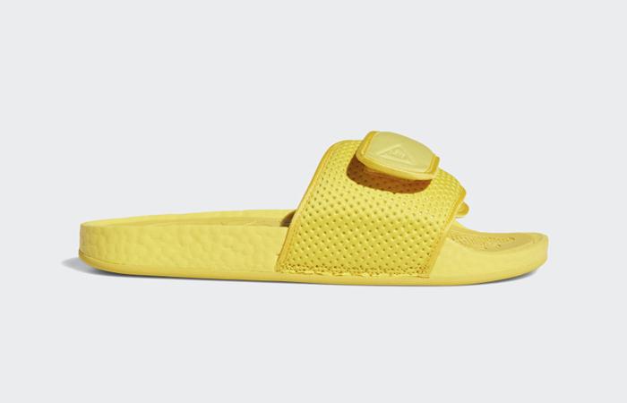 Adidas Chancletas Hu Slides Bold Gold H04407 right
