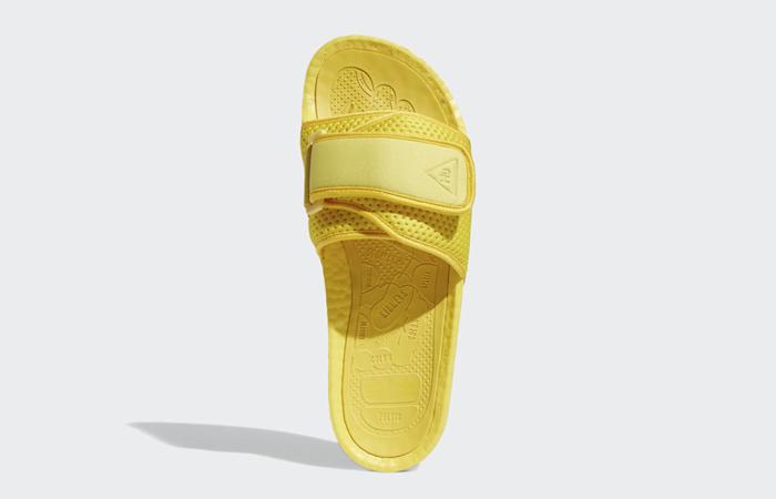 Adidas Chancletas Hu Slides Bold Gold H04407 up