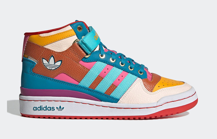 Adidas Forum Mid Seed Team Gold GV7673 right