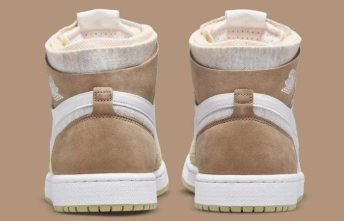 Air Jordan 1 Zoom CMFT Olive Aura CT0979-102 back