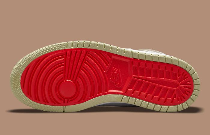 Air Jordan 1 Zoom CMFT Olive Aura CT0979-102 down