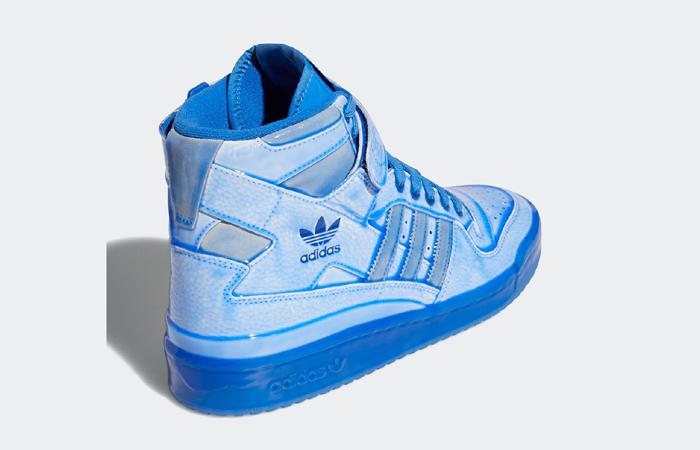 Jeremy Scott adidas Forum High Blue G54995 back corner