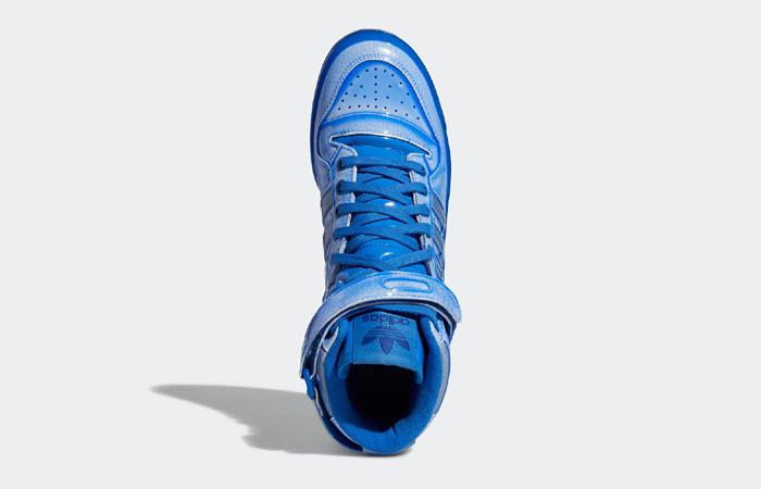 Jeremy Scott adidas Forum High Blue G54995 up