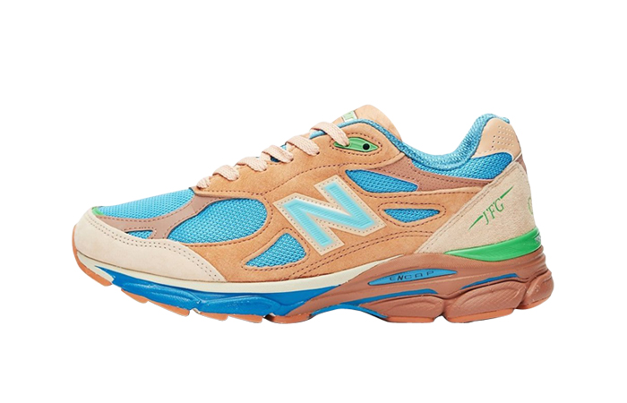 Joe Freshgoods New Balance 990v3 Outside Clothes Brown featured image