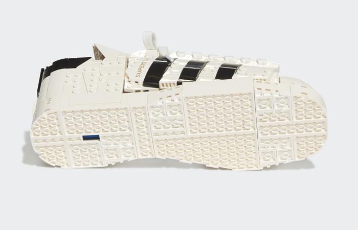Lego adidas Superstar White Black FZ8497 Down