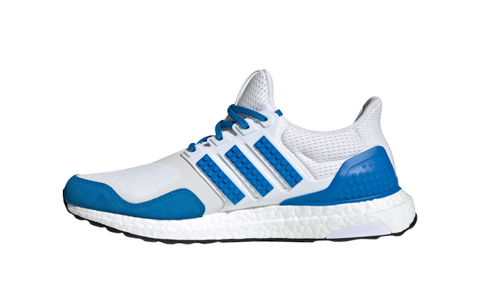 Lego adidas Ultra Boost DNA White Blue H67952 featured image