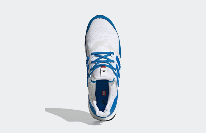 Lego adidas Ultra Boost DNA White Blue H67952 up